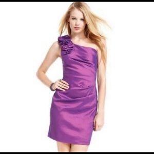 🔵(3/$20) Hailey Logan one strap dress size 13/14
